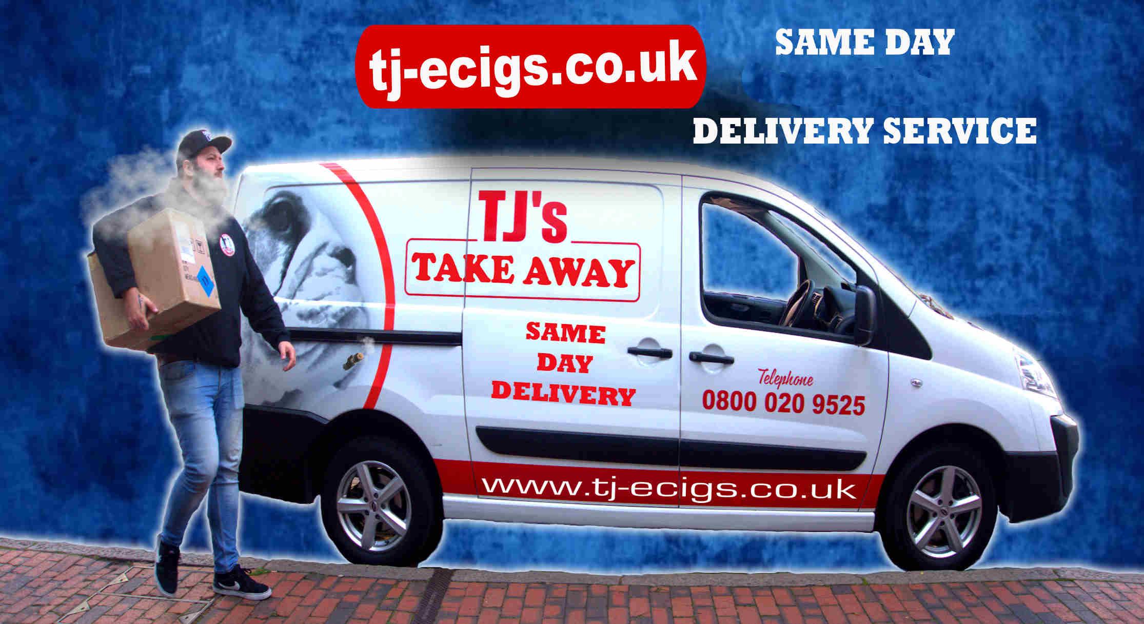 same day delivery on e-cigarettes
